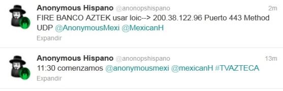 ataque de Anonymous a grupo salinas por transmitir debate
