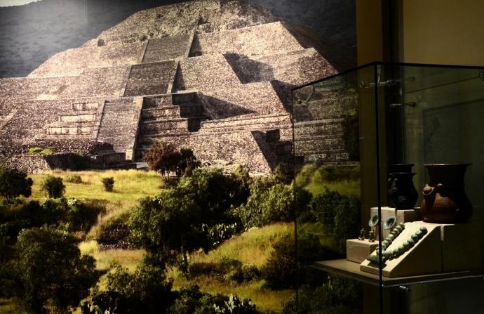 Museografía de la exposición. Foto: Melitón Tapia