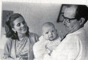Elena Poniatowska y su hijo Felipe
