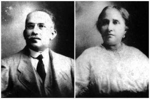 Los abuelos Tranquilina y Nicolas de Gabriel García Márquez