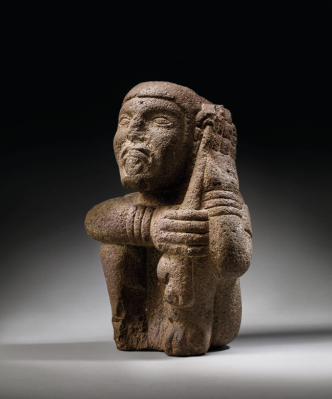 escultura azteca