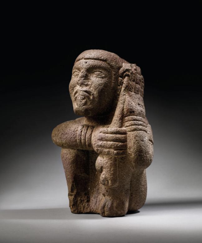 estatuilla azteca