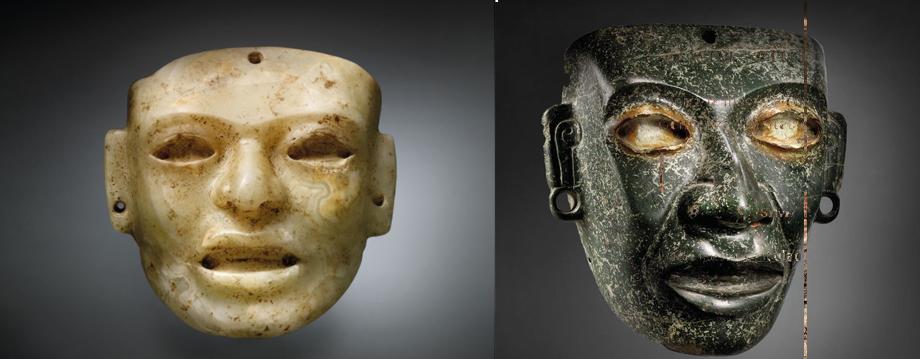 mascaras teotihuacanas