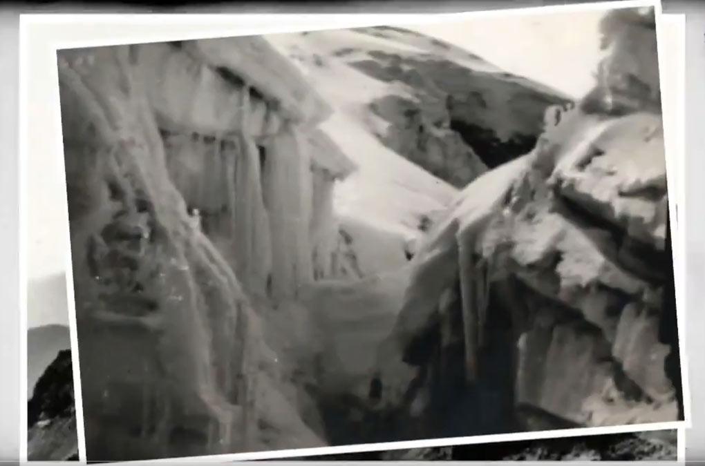 glaciar ayoloco en el Iztaccíhuatl